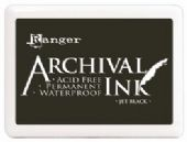 Ranger Ink - Jet Black - Archival Pad - AIP31468